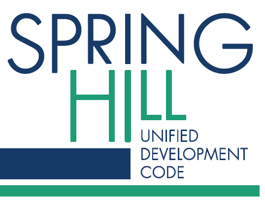 Spring Hill UDC Unified Development Code